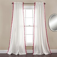Lush Decor 2-pack Urban Tassel Curtain