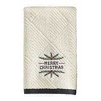 St. Nicholas Square® Ensembles Christmas Holly Fingertip Towel