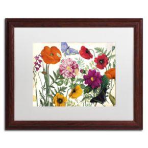 Trademark Fine Art Printemps I Framed Wall Art