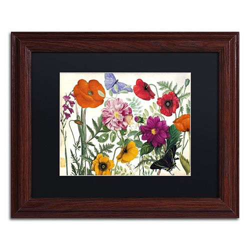Trademark Fine Art Printemps I Framed Wall Art