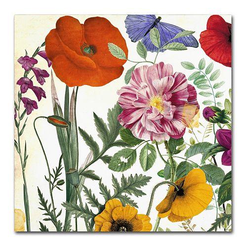 Trademark Fine Art Printemps II Canvas Wall Art