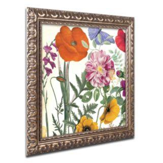 Trademark Fine Art Printemps II Ornate Framed Wall Art