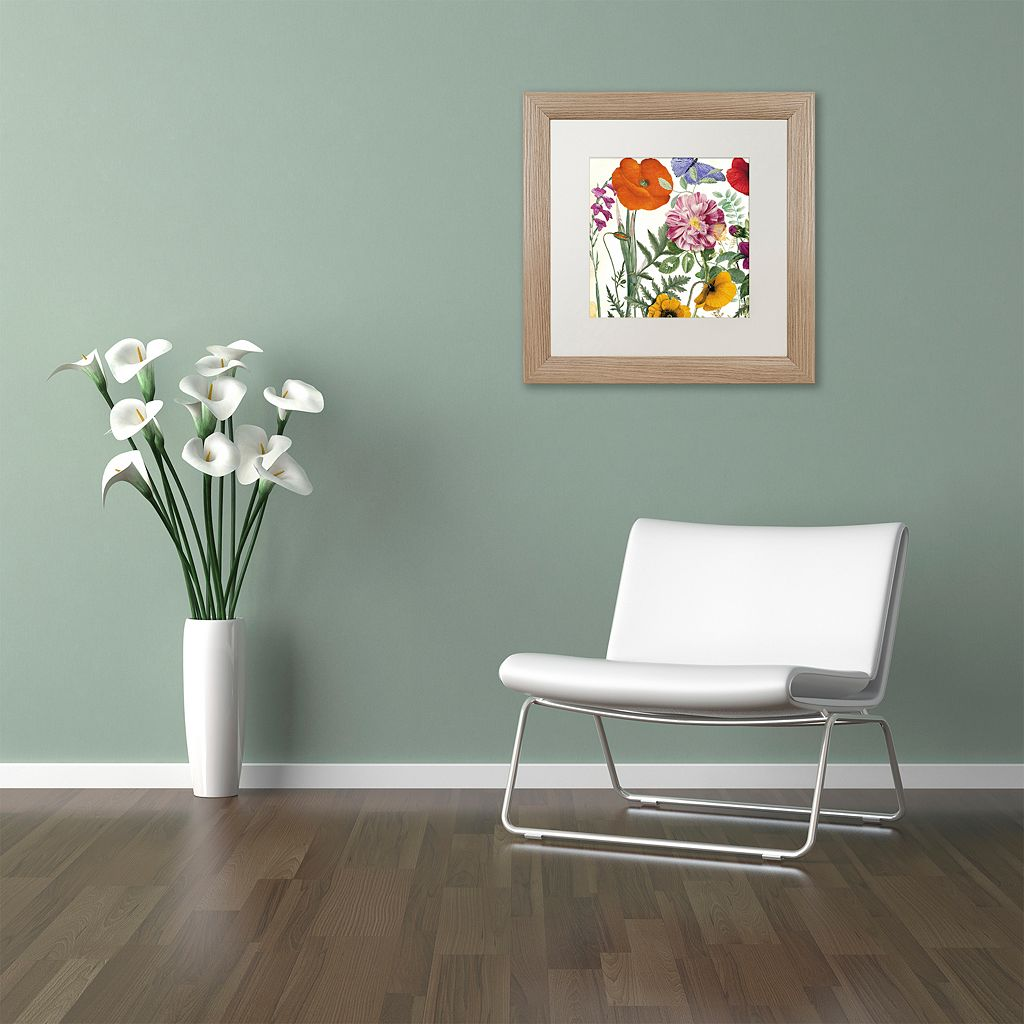 Trademark Fine Art Printemps II Framed Wall Art