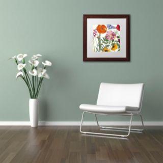 Trademark Fine Art Printemps II Washed Finish Framed Wall Art