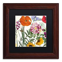 Trademark Fine Art Printemps II Washed Finish Framed Wall Art
