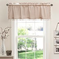 Lush Decor Urban Tassel Valance
