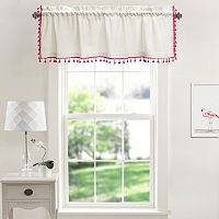 Lush Decor Urban Tassel Window Valance