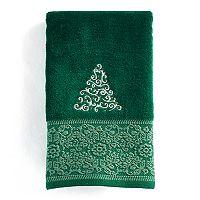 St. Nicholas Square® Ensembles Fancy Tree Fingertip Towel