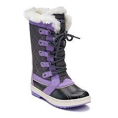 totes Sabrina Girls' Winter Duck Boots