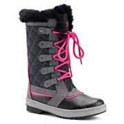 totes Sabrina Girls' Winter Duck Boots