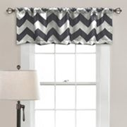 Half Moon Chevron Room Darkening Window Valance