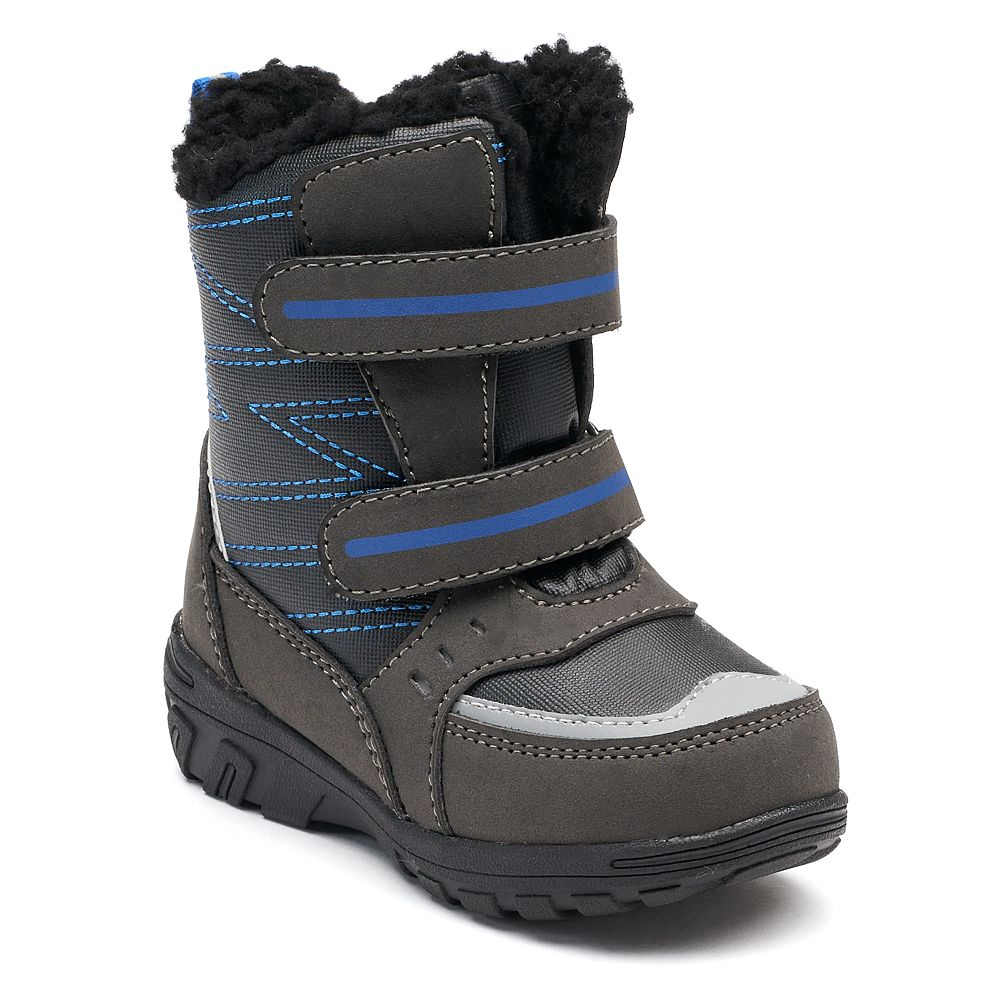 Bathroom scales boots - Totes Taylor Toddler Boys Winter Boots