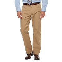 Men's Croft & Barrow® Classic-Fit Stretch Flannel-Lined 5-Pocket Pants