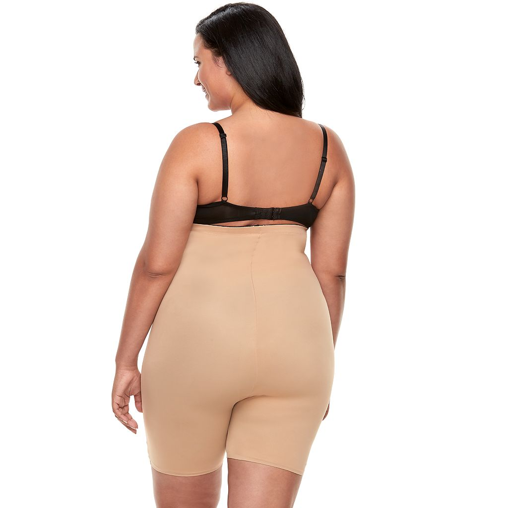 Plus Size Red Hot by Spanx Flipside Firming High-Waist Mid-Thigh Shaper 10142P