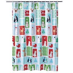 St. Nicholas Square® Snow Friends Shower Curtain