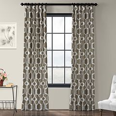 EFF 1-Panel Lyons Printed Window Curtain