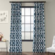 EFF Lyons Printed Window Curtain