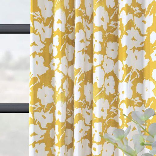 EFF Van Gogh Printed Window Curtain
