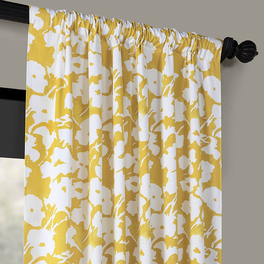 EFF Van Gogh Printed Window Curtain