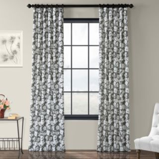EFF 1-Panel Van Gogh Printed Window Curtain