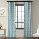 EFF 1-Panel Catalina Printed Window Curtain