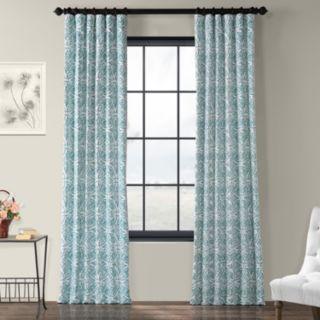 EFF 1-Panel Catalina Printed Window Curtain