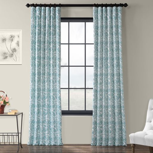 EFF Catalina Printed Window Curtain
