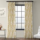 EFF 1-Panel Lacuna Printed Window Curtain
