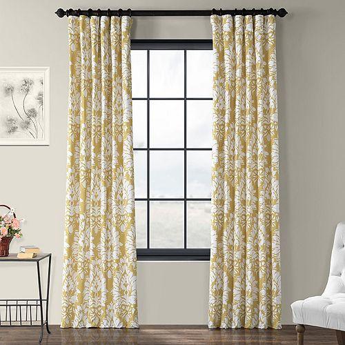 EFF 1-Panel Lacuna Printed Window Curtain