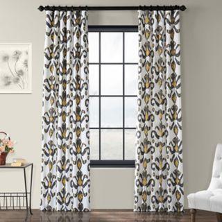 EFF 1-Panel Lumiere Printed Window Curtain