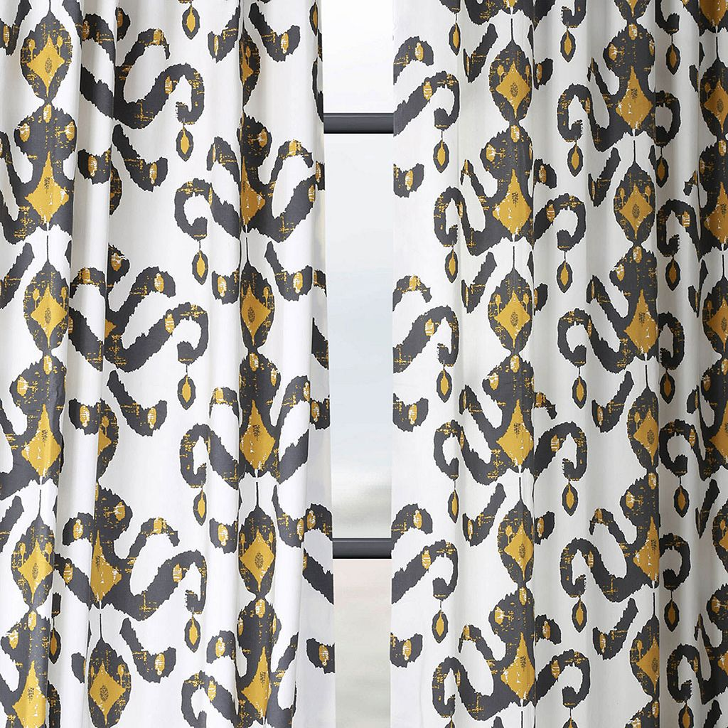 EFF Lumiere Printed Window Curtain
