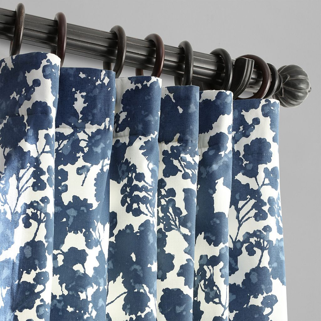 EFF Fleur Printed Window Curtain