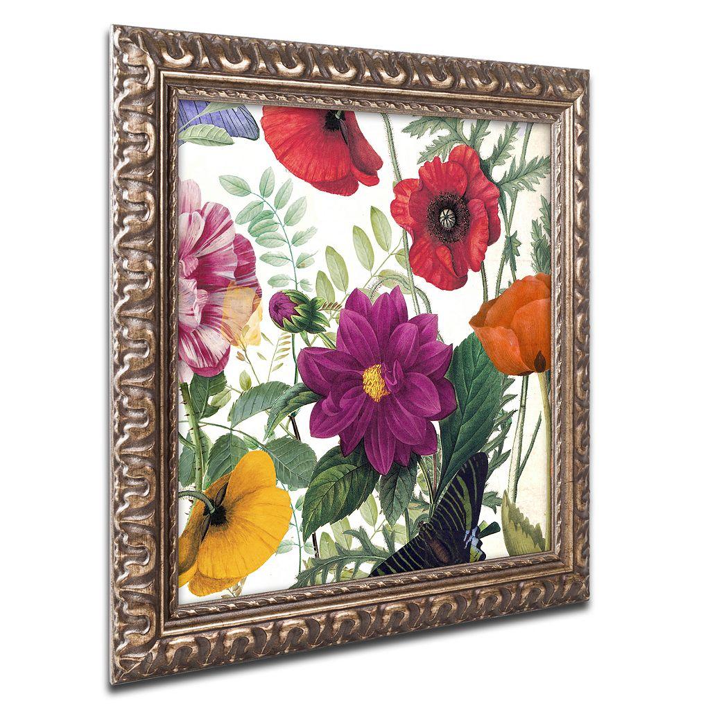 Trademark Fine Art Printemps III Ornate Framed Wall Art