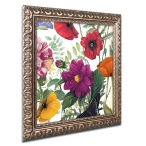 Trademark Fine Art Printemps III Ornate Framed Wall Art