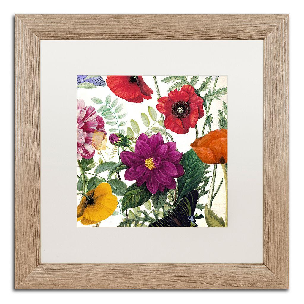 Trademark Fine Art Printemps III Washed Finish Framed Wall Art