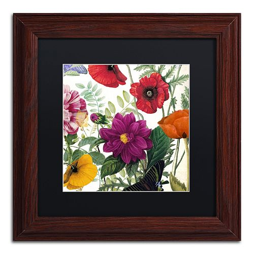 Trademark Fine Art Printemps III Framed Wall Art