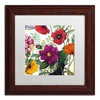 Trademark Fine Art Printemps III Framed Wall Art