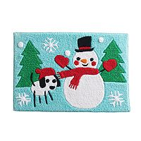 St. Nicholas Square® Snow Friends Bath Rug