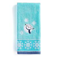 St. Nicholas Square® Aerial Snowman Hand Towel