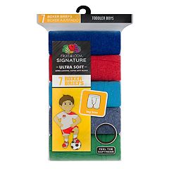 Toddler Boy Fruit of the Loom 7 pkSignature Ultra Soft Boxer Briefs
