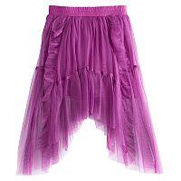 Disney D-Signed Descendants 2 Girls 7-16 Ruffled Tulle Sharkbite Hem Skirt