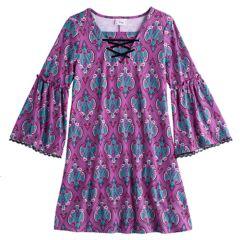 Girls Kids Long Sleeve Dresses, Clothing   Kohl's