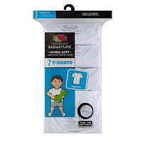 Toddler Boy Fruit of the Loom 7-pk. Signature Ultra Soft Tees