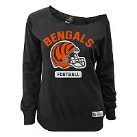 Women's Cincinnati Bengals Wide Receiver Off the Shoulder Sweatshirt