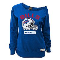 Women's Buffalo Bills Wide Receiver Off the Shoulder Sweatshirt