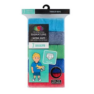 Toddler Boy Fruit of the Loom 7-pk. Signature Ultra Soft Briefs