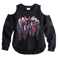 Disney D-signed Descendants 2 Girls 7-16 Mal, Uma & Evie Pullover Top