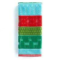 St. Nicholas Square® Multi Stripe Hand Towel