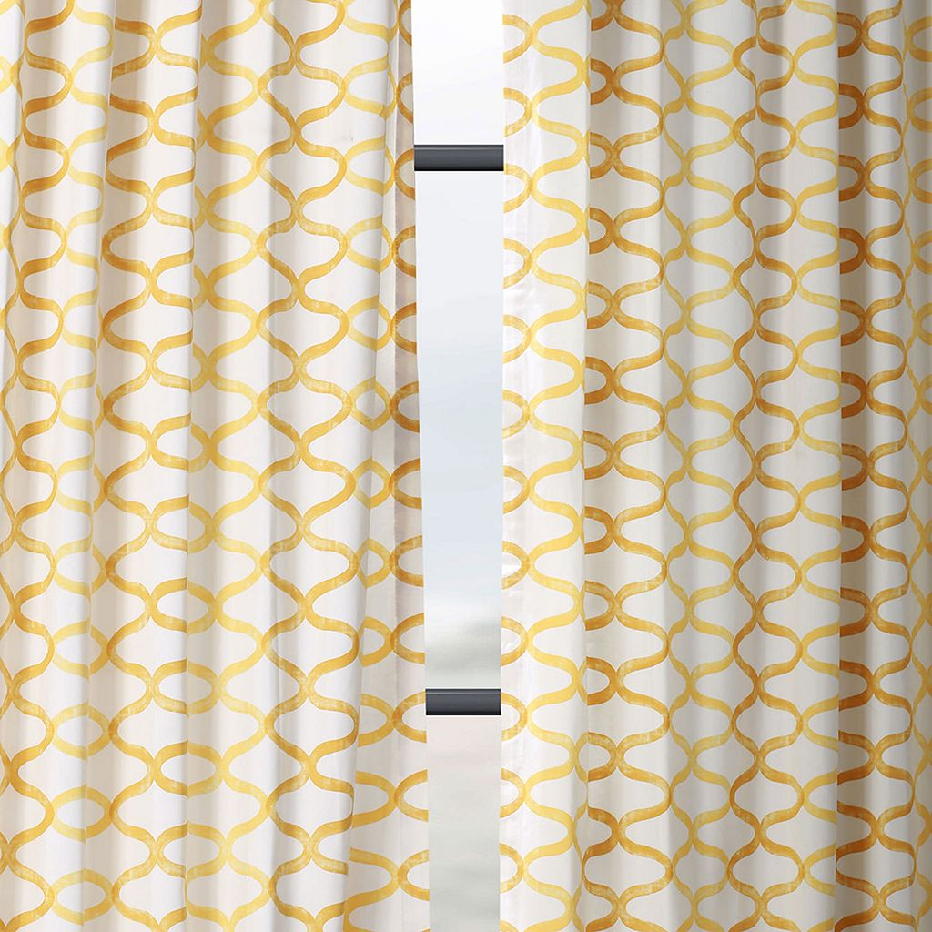 EFF Illusions Printed Window Curtain