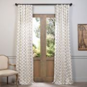 EFF 1-Panel Illusions Printed Window Curtain